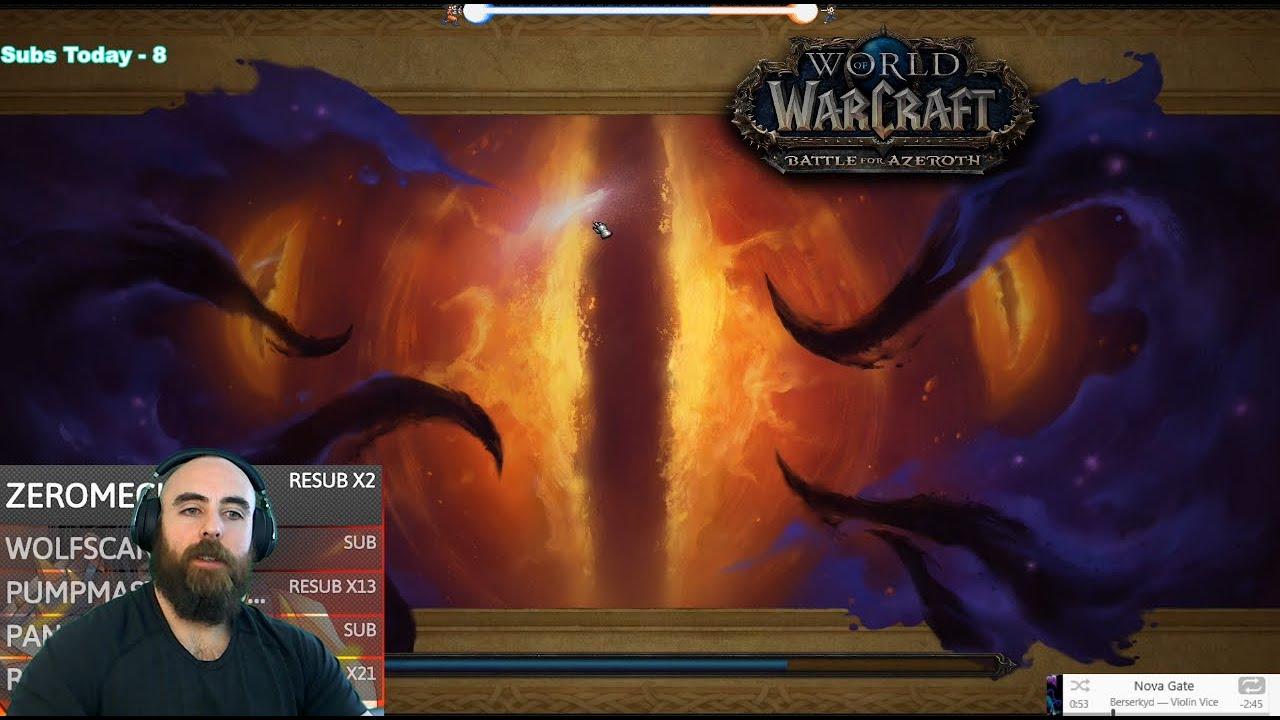 Horrific Vision of Stormwind (Full Clear): 461 Fury Warrior - WoW BFA 8.3 PvE thumbnail