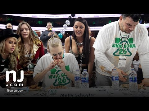 Scenes from Wing Bowl 2018: Champion Molly Schuyler crowned champion