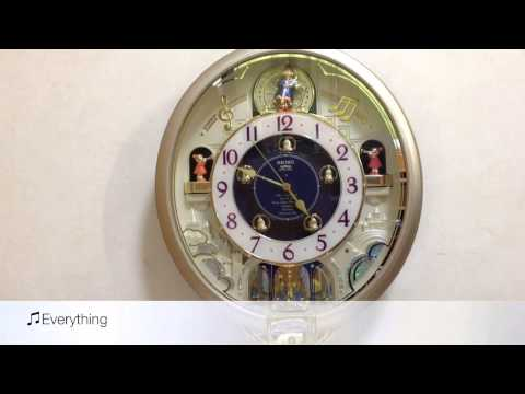 Seiko Melodies In Motion Charming Bell Wall Clock