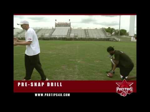 Football Tips: Pre-Snap Drill with Jason White