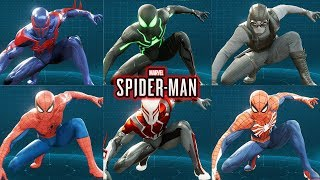 Spider-Man Ps4 - How To Unlock Every Suit/Costume Guide