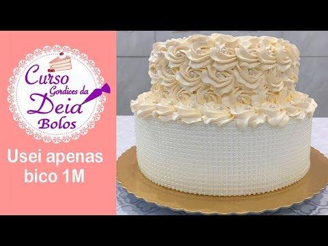 Ensinando a fazer bolo de casamento - 08 de junho