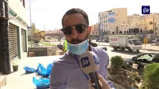شباب يطلقون مبادرة فزعة وطن لتوزيع سلع غذائية ودوائية على المحتاجين-7/4/2020