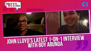 John Lloyd Cruz's Latest 1-on-1 Interview with Boy Abunda | The Best Talk