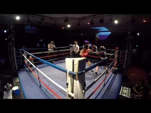 Ultra White Collar Boxing   Yeovil   Becky Hurford