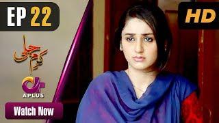 Karam Jali - Episode 22 | Aplus Dramas | Daniya, Humayun Ashraf | Pakistani Drama