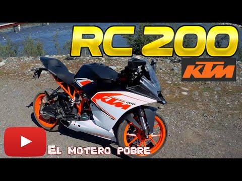 KTM RC 200 - El motero pobre #5 Motovlog   chile 🇨🇱