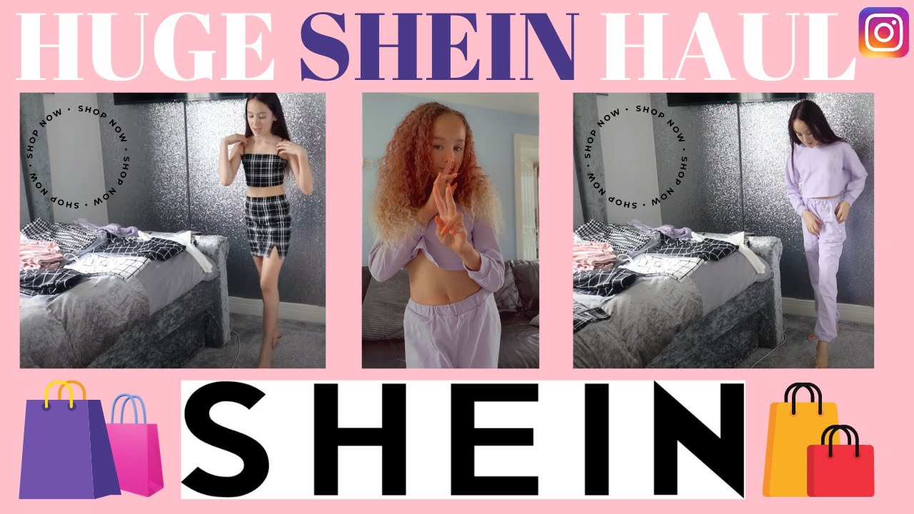 SHEIN KIDS HAUL / SHEIN KIDS TRY ON  - Amira Moo - Lockdown 3 (March 2021)