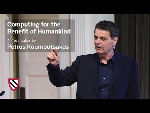 Petros Koumoutsakos | Computing for the Benefit of Mankind || Radcliffe Institute