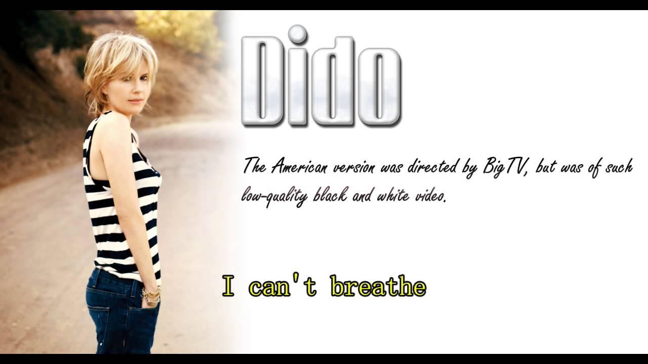 Don't Think of Me Lyrics by Dido - lyricshot.net