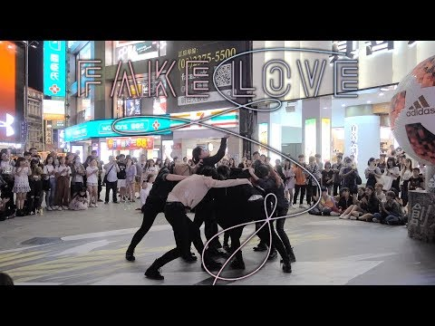 [KPOP IN PUBLIC] BTS 'FAKE LOVE' DANCE COVER by DAZZLING from TAIWAN(五團聯合公演)
