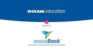 mozaBook - The interactive content and LMS - AI supported tools for K-12 teachers and students