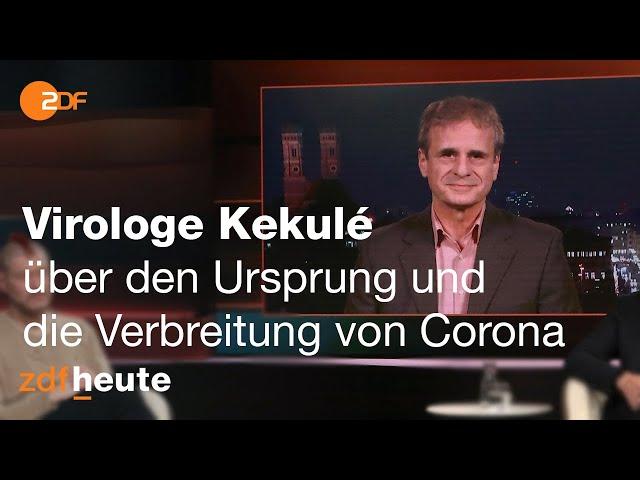 Deutscher Virologe im chinesischen Staatsfernsehen | Markus Lanz vom 01. Dezember 2020