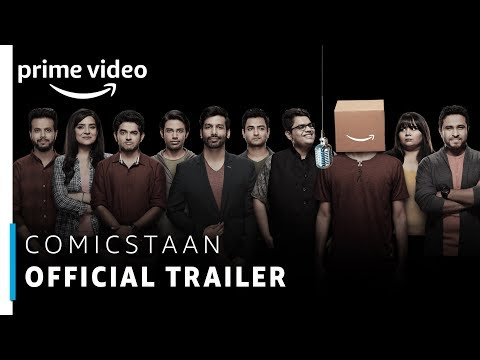 Comicstaan - Official Trailer 2018 | Prime Original | Amazon Prime Video
