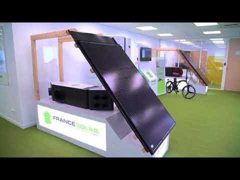 Video de presentation de la société France Solar