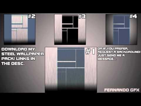 FernandoGFX Steel Wallpaper Pack