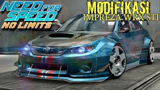 Need For Speed No Limits - Modif Subaru Impreza WRX STI : upgrade BodyKIT
