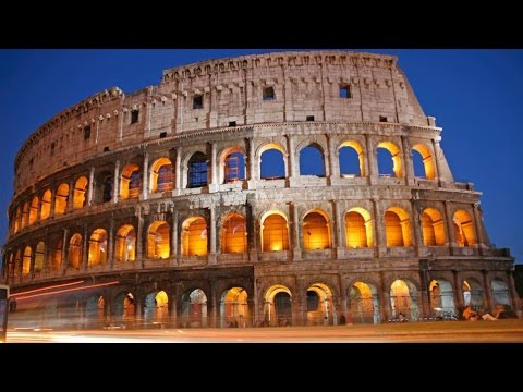 Traveling...Rome Italy, Colosseum, Roman Forum 4K Video