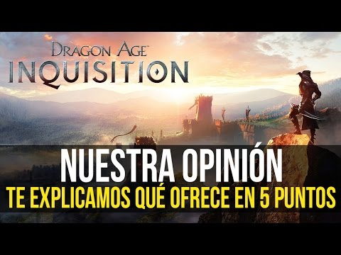 DRAGON AGE: INQUISITION - 5 motivos por los que es UN BUEN RPG - Nuestra opinión