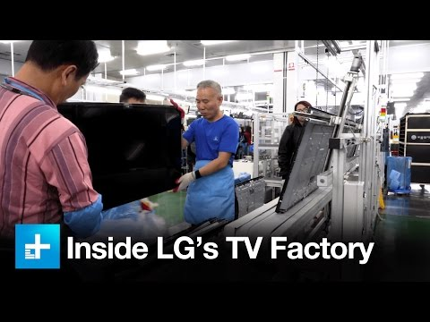 Exclusive tour of LG
