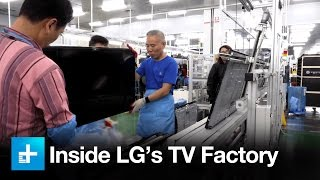 Exclusive tour of LG's OLED R&D and manufacturing facilites in South Korea