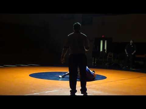 Worcester Wrestling - Issiah Bryant vs Keefe Tech JV 2