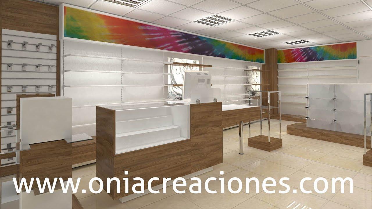 Mobiliario para tiendas mostrador perfumer a www - Estanterias para ropa ...