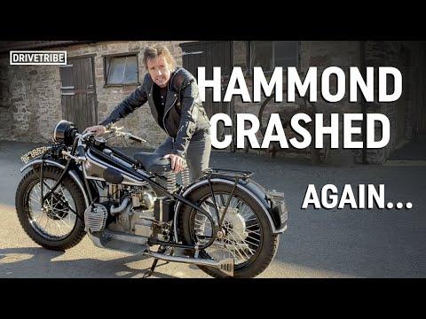 Richard Hammond does his own lockdown 'Long Way Round' bike trip