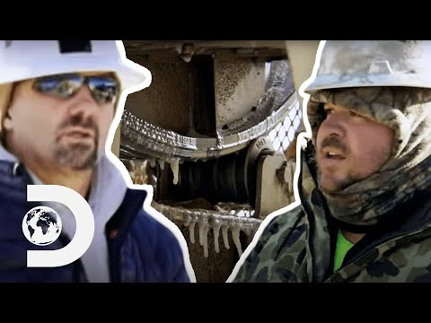Low Temperatures Freeze Gold Mining Machinery | Gold Rush: Dave Turin's Lost Mines