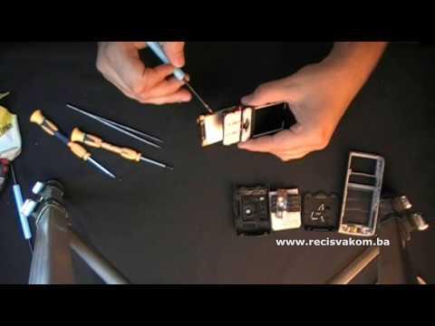 Sony Ericsson K800i Disassembly / K800 Rasklapanje