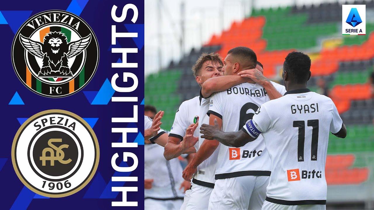 Download Venezia 1-2 Spezia   Spezia snatch a late win!   Serie A 2021/22
