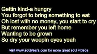 The Temptations - Runaway Child, Running Wild (with lyrics)
