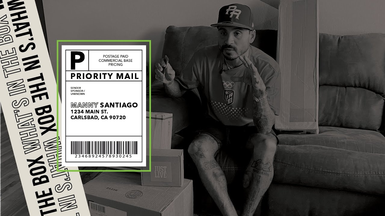 Manny Santiago Rips Opens Sk8hop, Grizzly Griptape, Just Live Care Packages in What's In The Box