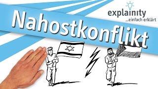 Nahostkonflikt einfach erklärt (explainity® Erklärvideo)