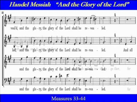 handel and the glory of the lord essay 'and the glory of the lord is a piece of music written by george george frideric handel's music: the glory of the lord essay sample lord of the.