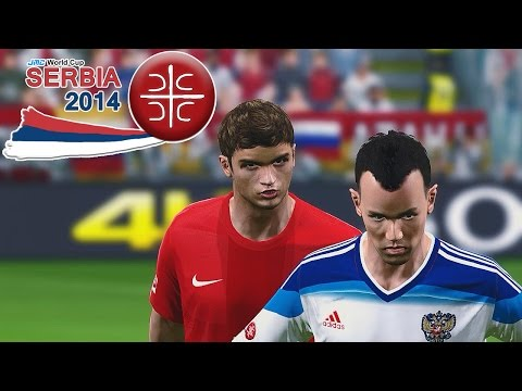 Serbia vs. Russia | 3rd place match | jmc World Cup Serbia 2014 | Pro Evolution Soccer 2014