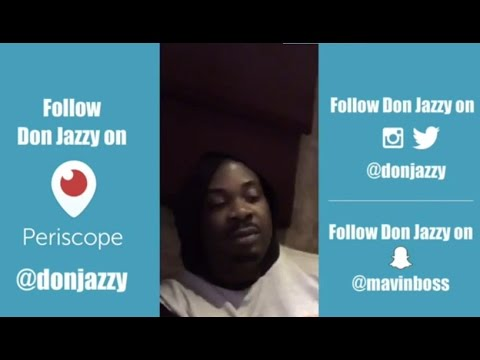 Don Jazzy's first ever live stream on the Periscope app
