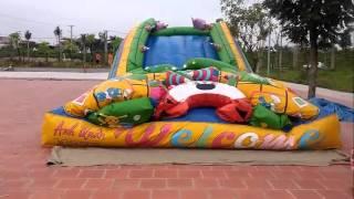 Đồ chơi trẻ em   Dựng Nhà Hơi   Nhà hơi cho các bé vui chơi giải trí   Toy for kids