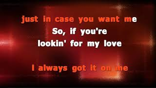 Luke Bryan - Light It Up - karaoke with backing, no lead vocal