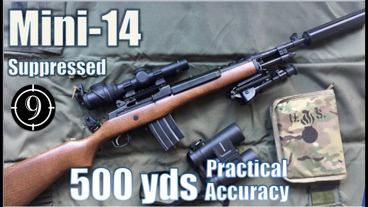 Pushing out to 500 yards with the Ruger Mini-14 (VIDEO