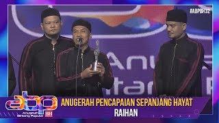 Raihan - Anugerah Pencapaian Sepanjang Hayat | #ABPBH32