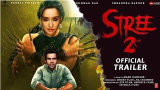 Stree 2 : Official Trailer   Rajkummar Rao   Shraddha Kapoor   Dinesh Vijan  Raj&DK  Concept Trailer