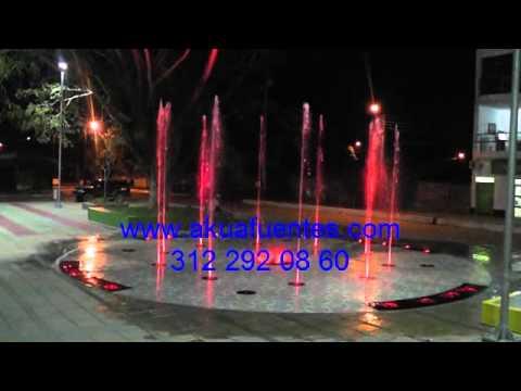 Akua fuentes fuente de agua r tmica decorativa tipo seca for Fuentes de agua