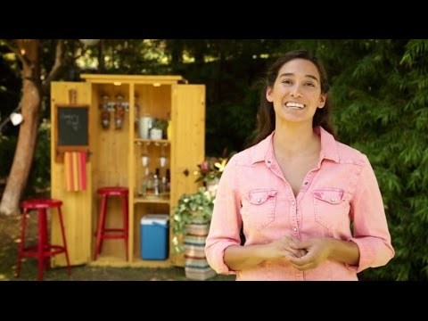 How to Create an Outdoor Bar Shed