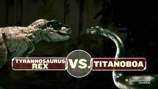 Titanoboa Monster Snake Titanoboa Vs T Rex