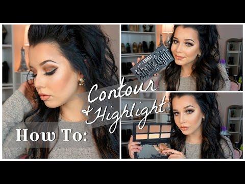 ♡How To: Contour & Highlight | Kat Von D Shade + Light Palette♡