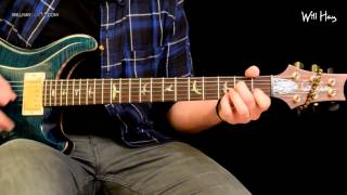 Congregation - Foo Fighters guitar tutorial Part 1 note for note tab HD