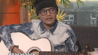 April Mariz 'Epey' Herher sings on Banana Nite's 'Ihaw Na' segment