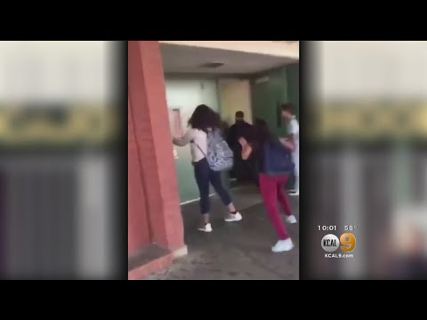 Multiple Fights Break Out At Inland Empire High School