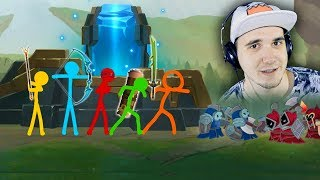 Animation vs. League of Legends ( Анимация против Лига Легенд )   Реакция